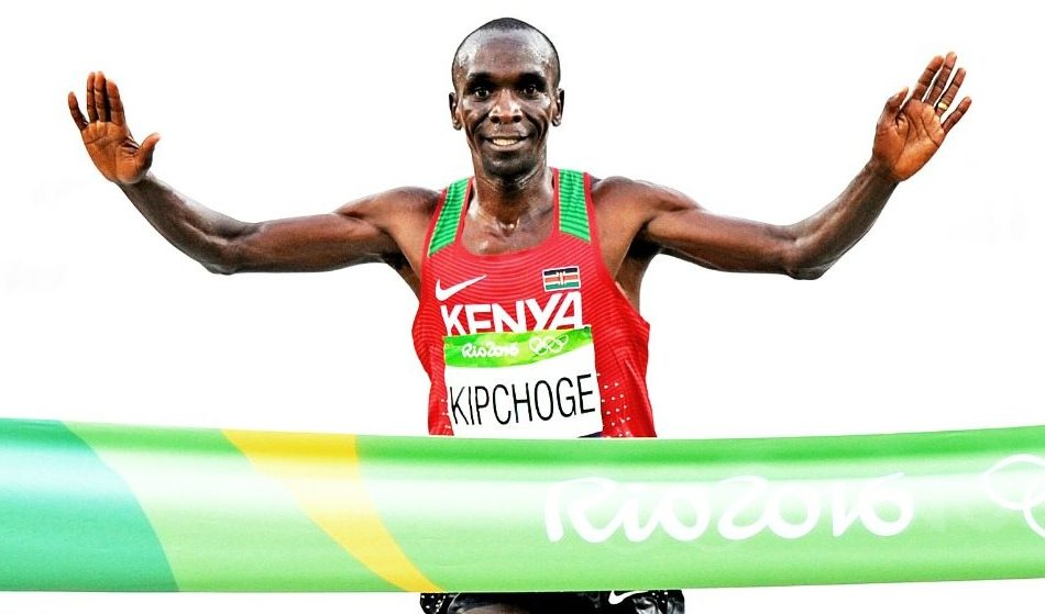 Eliud Kipchoge and Brigid Kosgei on Kenya's Olympic marathon team