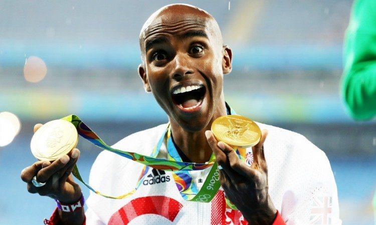Mo Farah medals Rio 2016