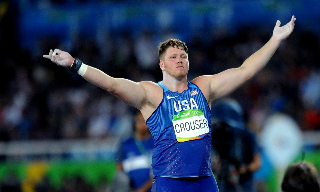 Ryan Crouser wins shot gold with Olympic record-breaking throw