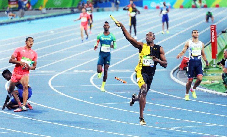 Usain Bolt 4x100m Rio 2016