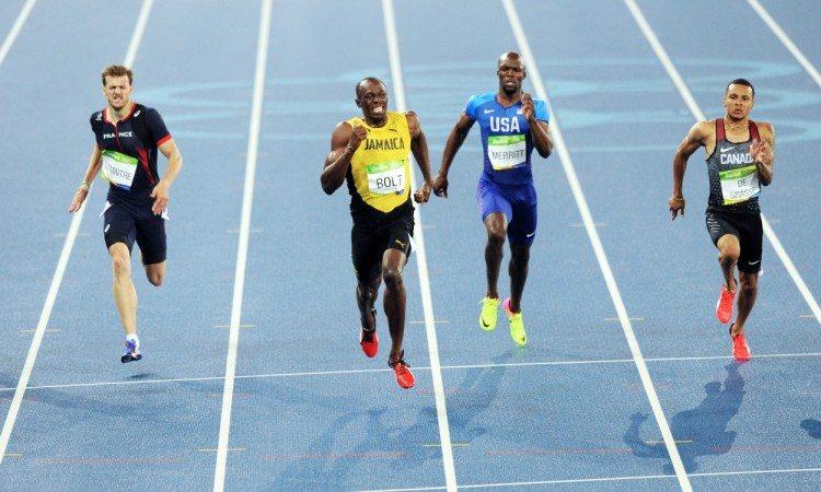 Usain Bolt Rio 2016 200m