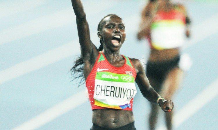 Vivian Cheruiyot Rio 2016