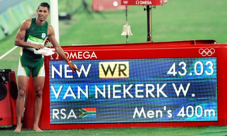 Wayde van Niekerk world record rio 2016