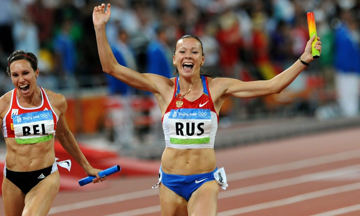 Russia loses Beijing 2008 4x100m gold after Yulia Chermoshanskaya positive