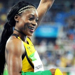 Elaine Thompson and Kendra Harrison run world leads at national champs