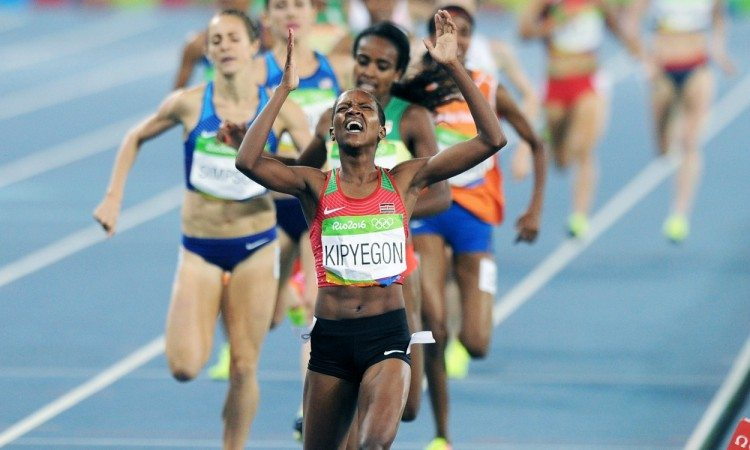 faith kipyegon rio 2016