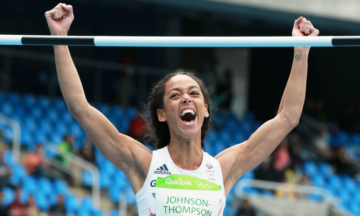 Katarina Johnson-Thompson breaks British high jump record in Rio