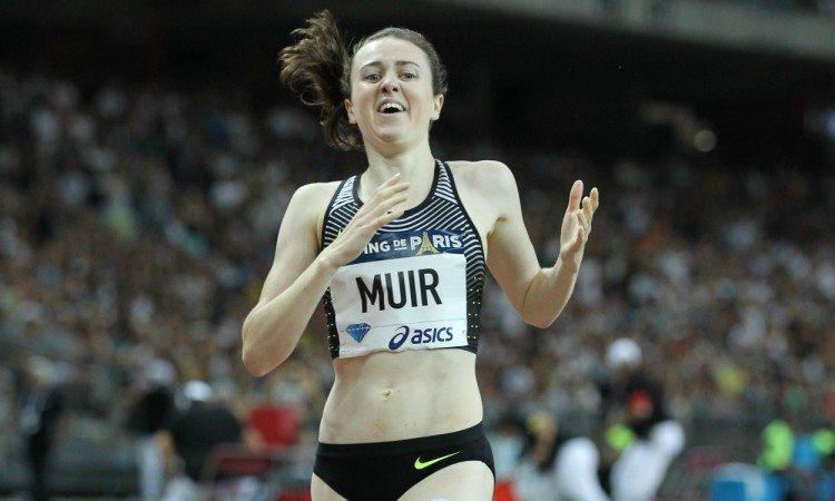 laura muir british record paris diamond league