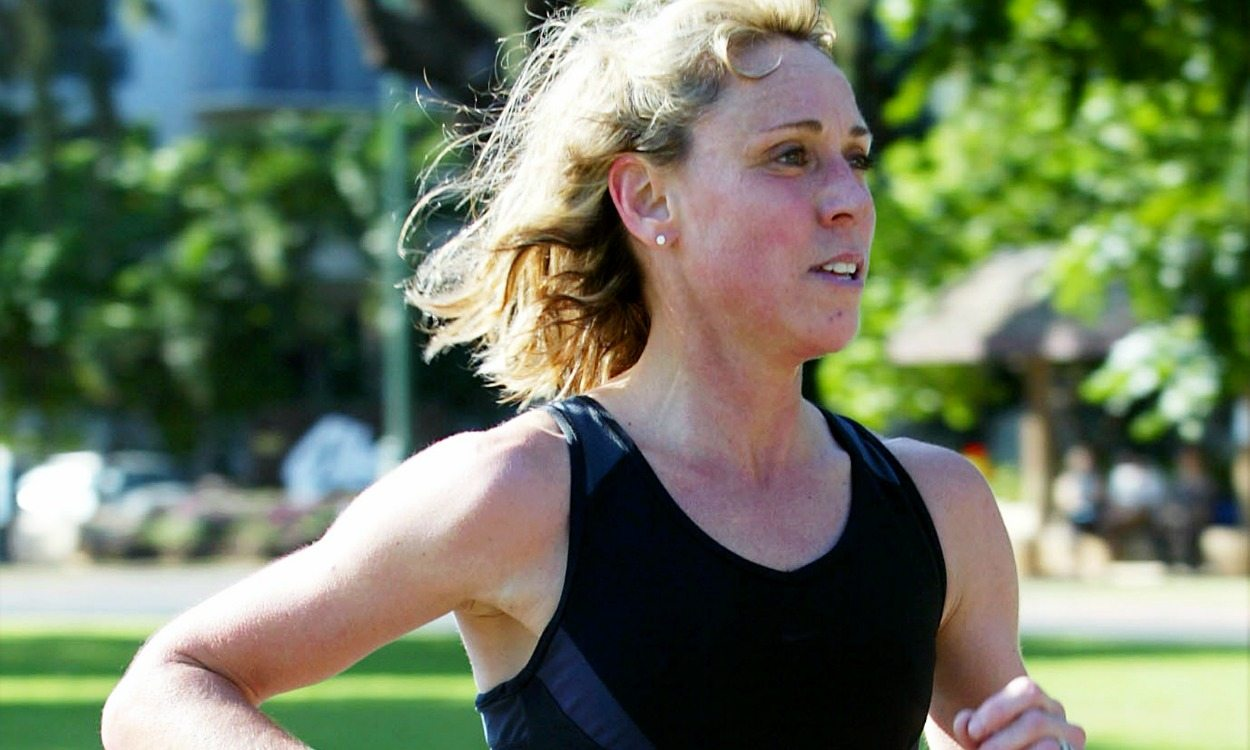 Mary Decker Slaney 'runs' again