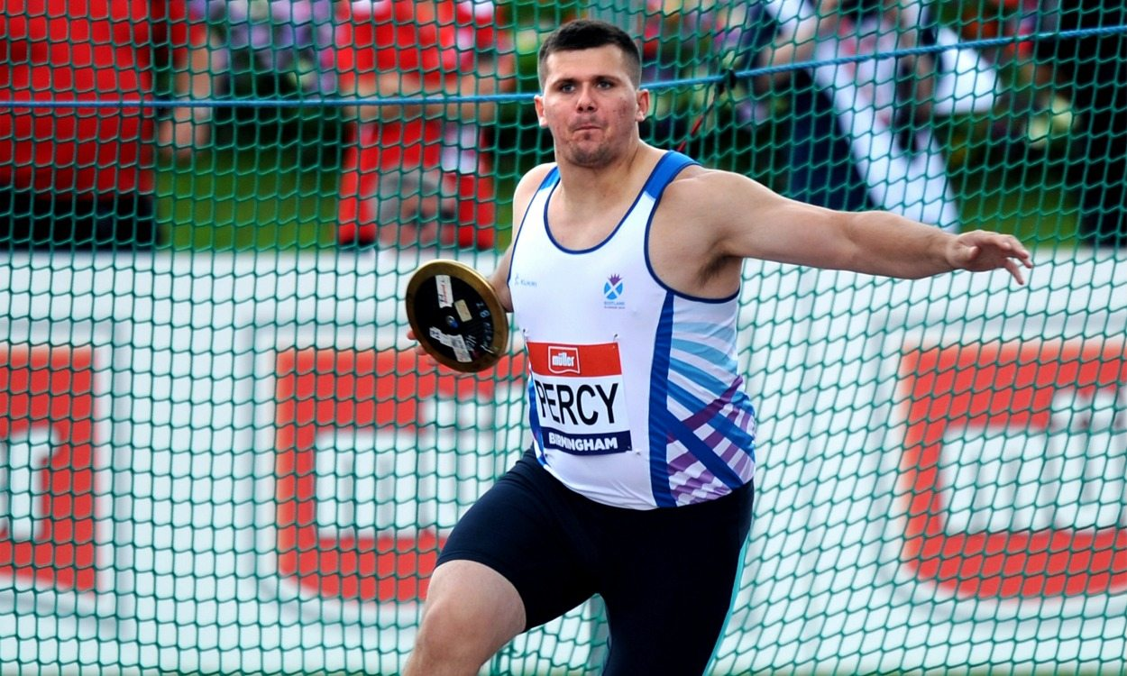 Nick Percy throws Scottish native discus record – weekly round-up
