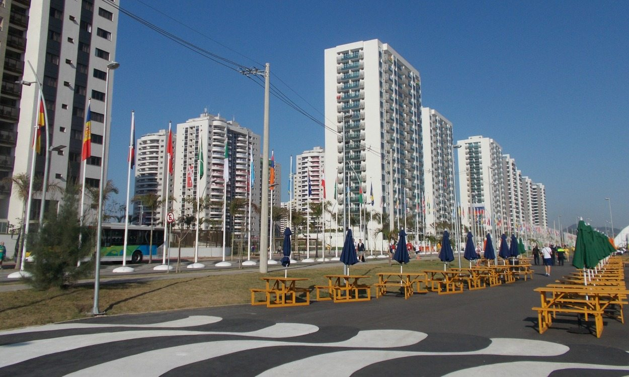 Life in the Olympic Village