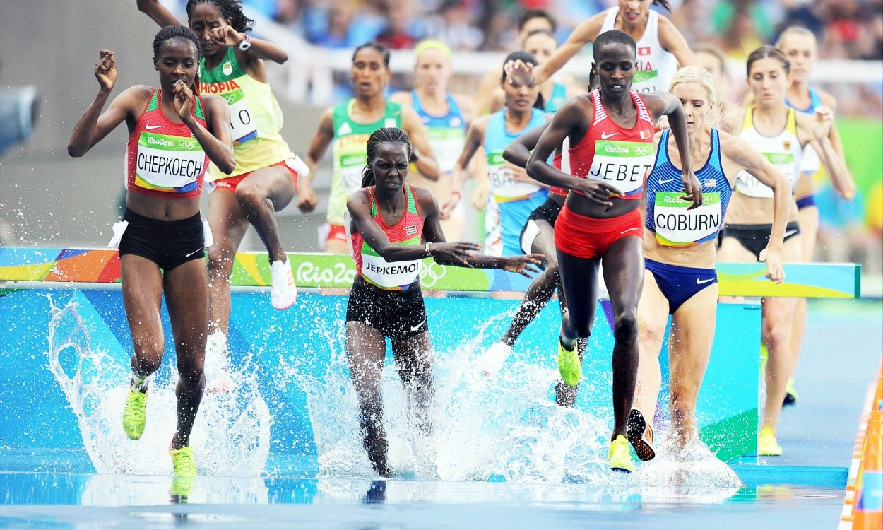 Ruth Jebet just misses world steeplechase record to win Olympic title