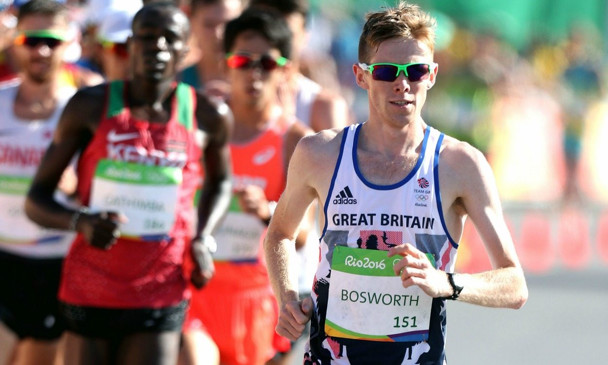 Tom Bosworth boosted by London 2017 home advantage