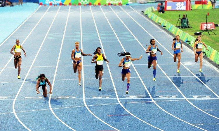 women's 400m miller felix