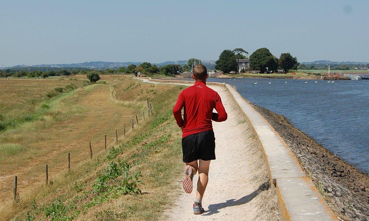 Running routes: Exe Estuary