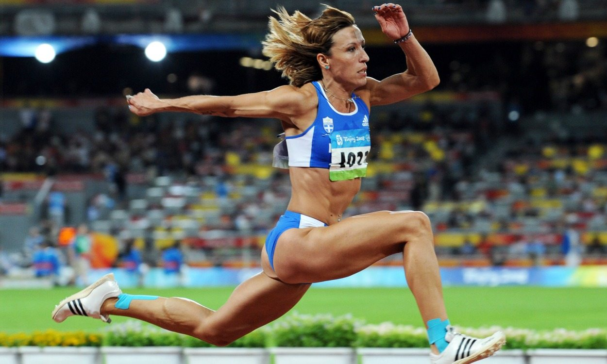 Triple jumper Hrysopiyi Devetzi set to be stripped of 2008 Olympic bronze