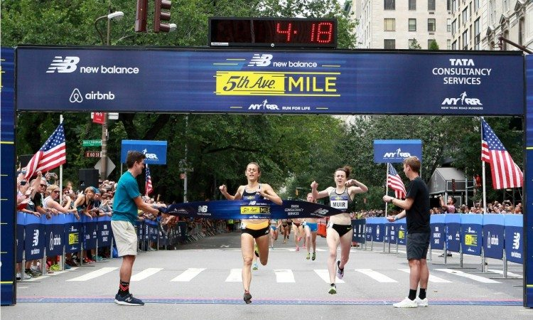 Jenny Simpson 5th Ave Mile