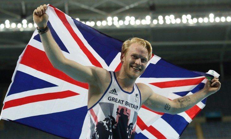 Jonnie Peacock - 100m T44 winner