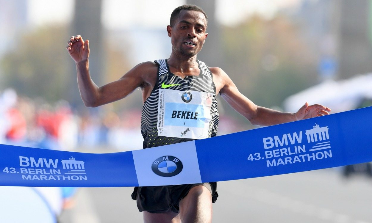 Kenenisa Bekele wins Berlin Marathon in second fastest time ever