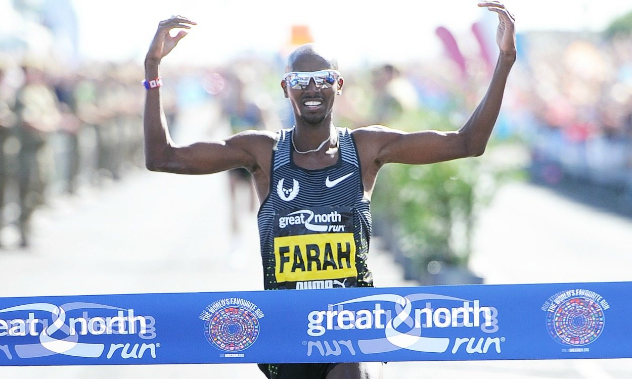 Mo Farah and Vivian Cheruiyot ready to defend Great North Run titles