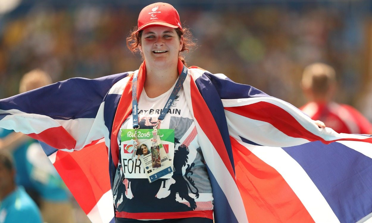 Sabrina Fortune secures shot put bronze at Rio Paralympics