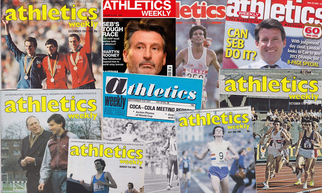Seb Coe in AW covers