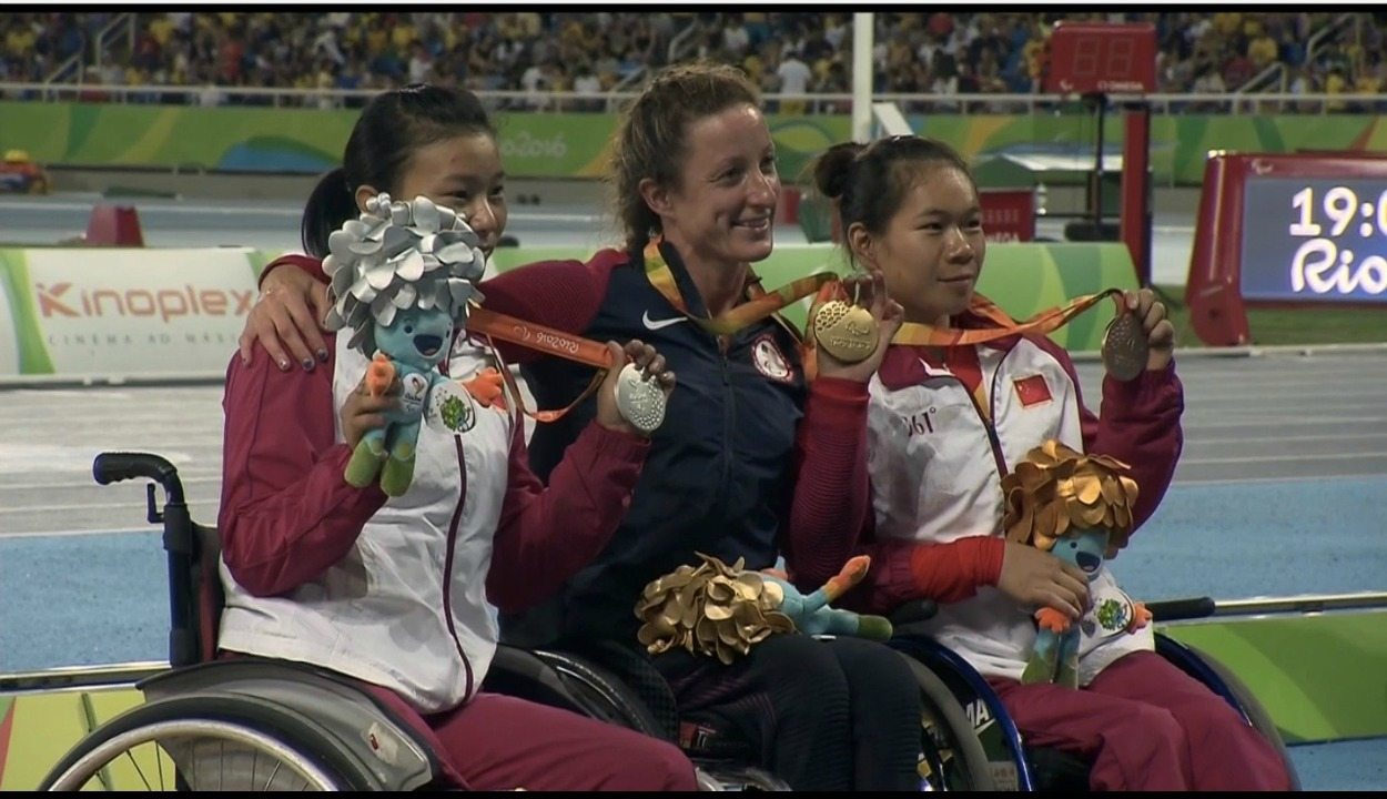 Tatyana McFadden powers to another Paralympics title