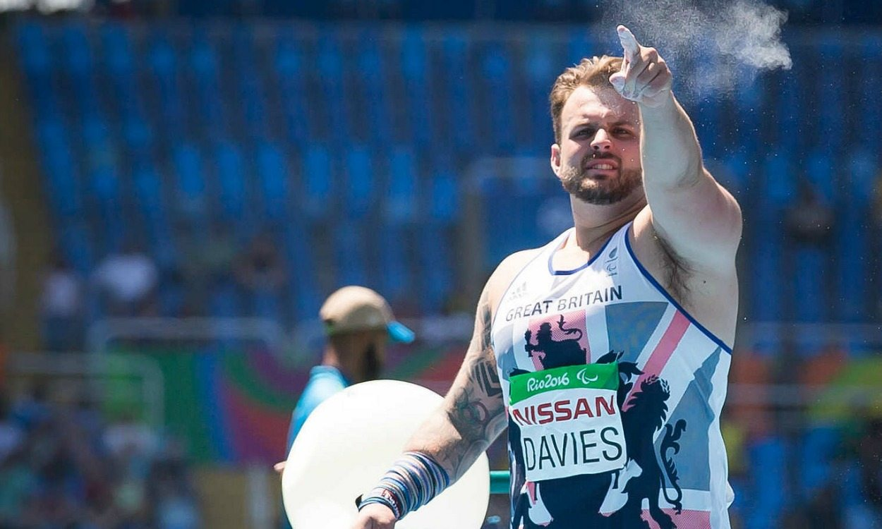 Aled Davies wins Paralympic shot put gold
