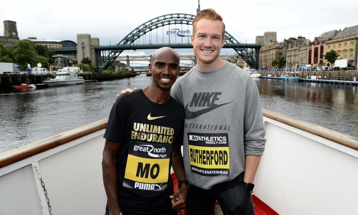 Mo Farah looks to Great North Run hat-trick