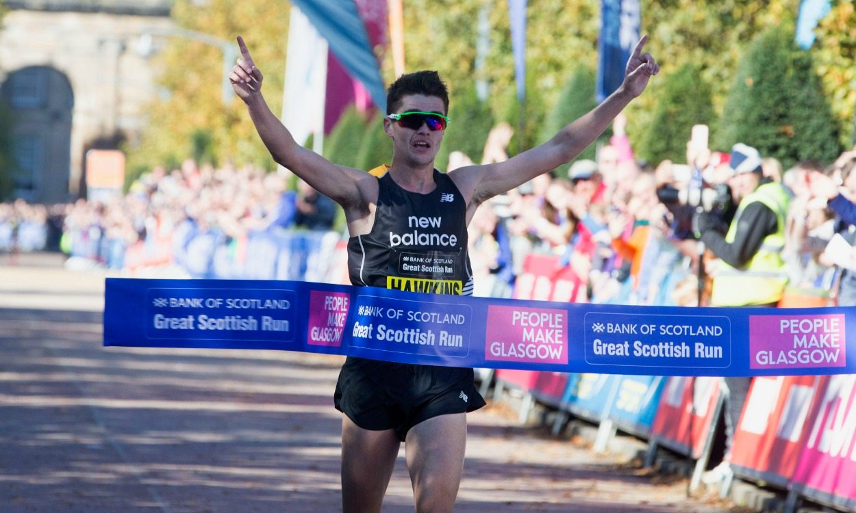 Callum Hawkins smashes Scottish record at Great Scottish Run