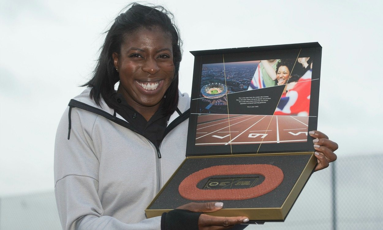 Christine Ohuruogu takes time to reflect