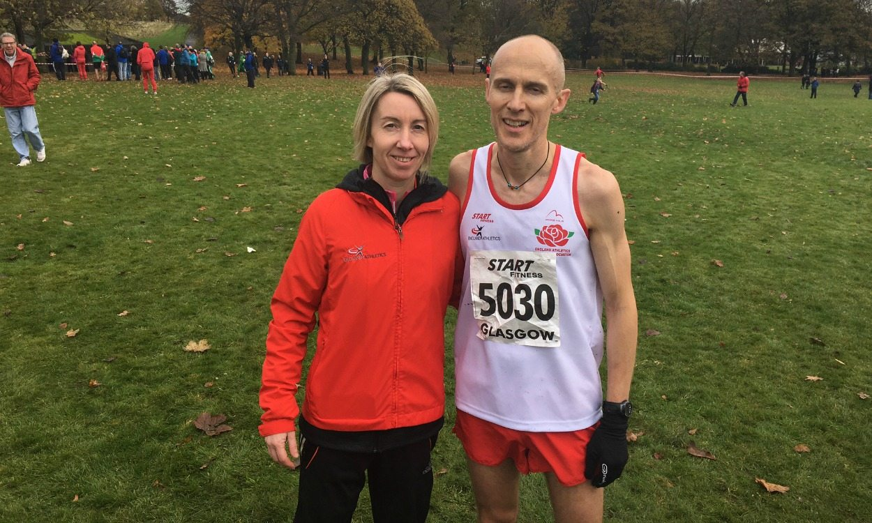 England masters athletes in form in Glasgow