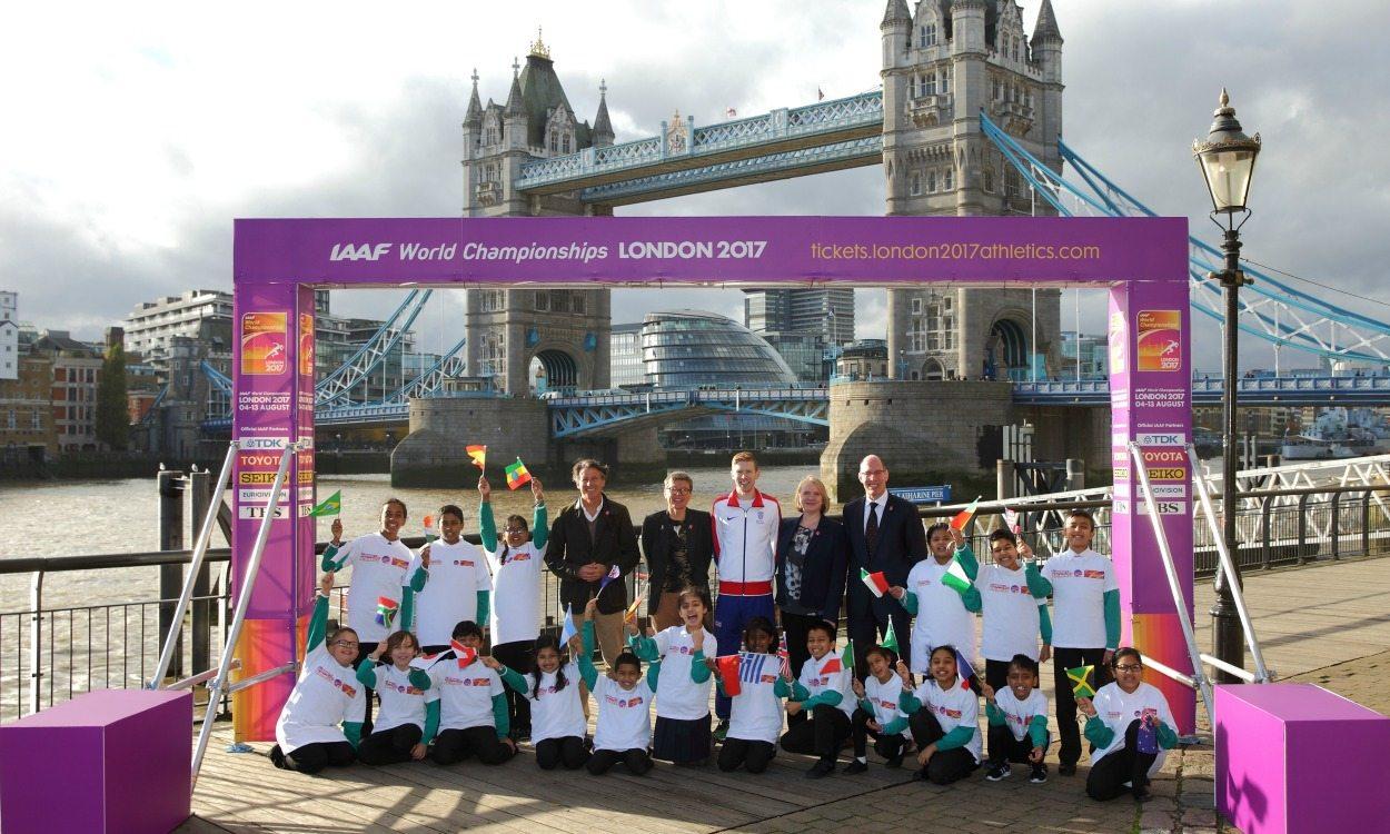 A run-through of the London World Championships marathon route