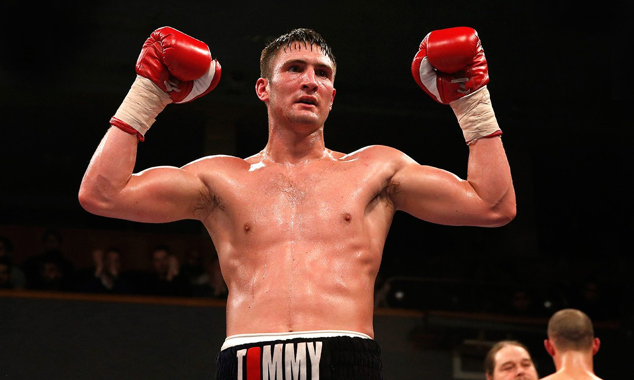 Tommy Langford: Packing a punch on the track and in the ring