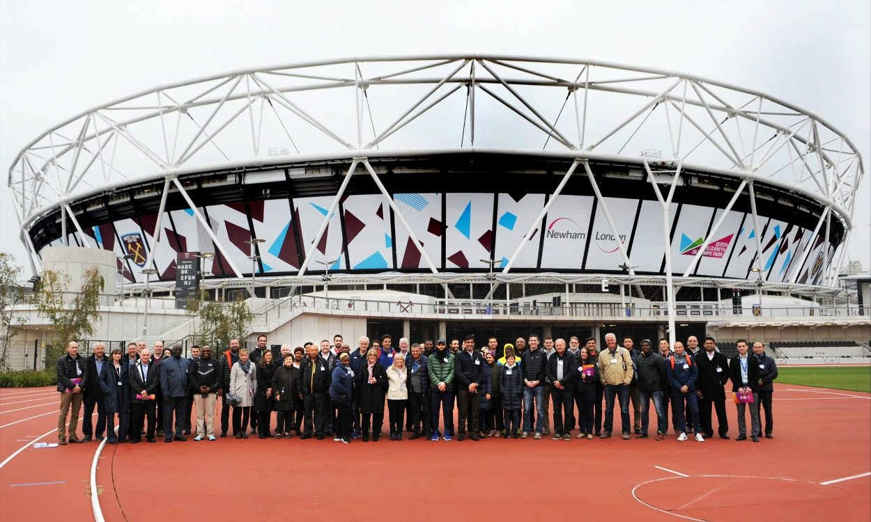 Team leaders visit key London 2017 locations