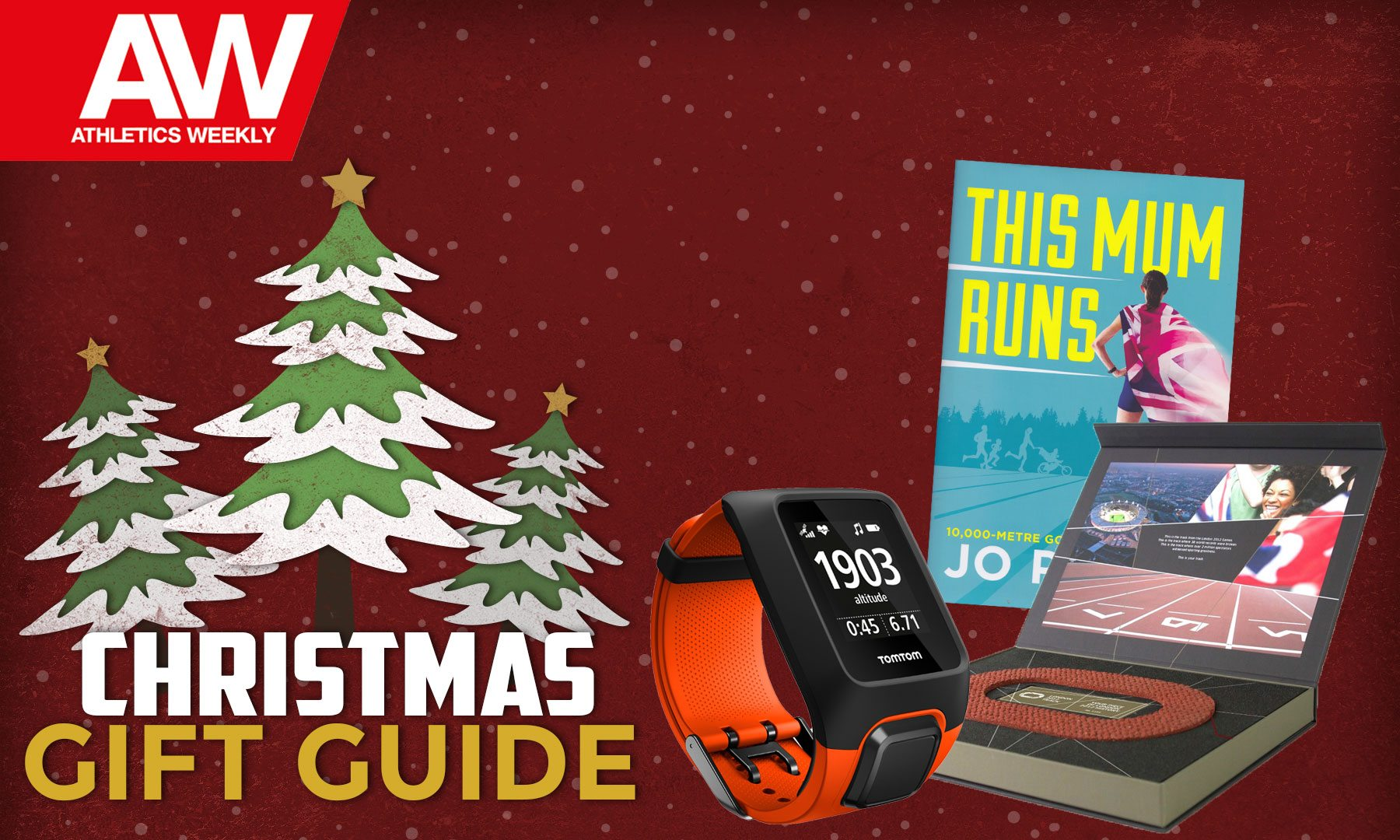 Athletics Christmas gift guide