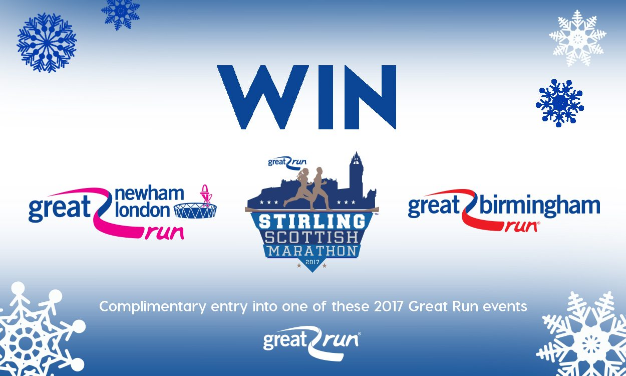 Win Great Run event entry