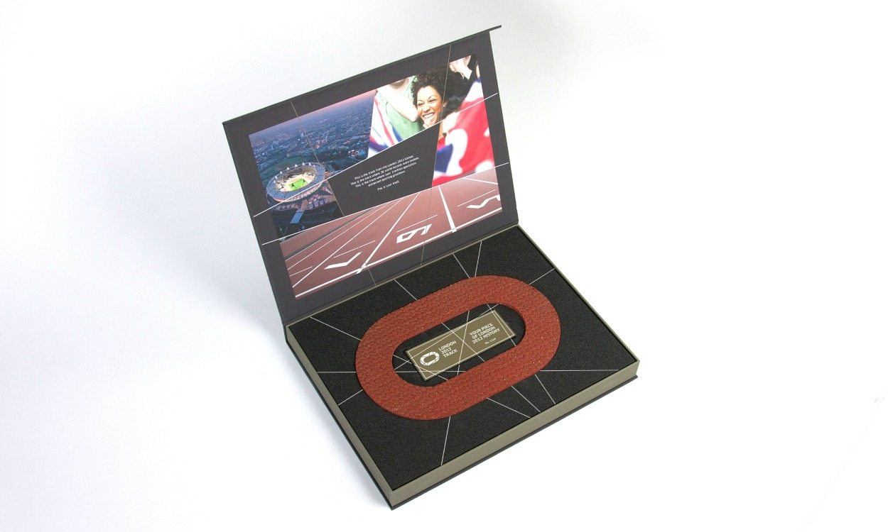 Win a piece of London 2012 track