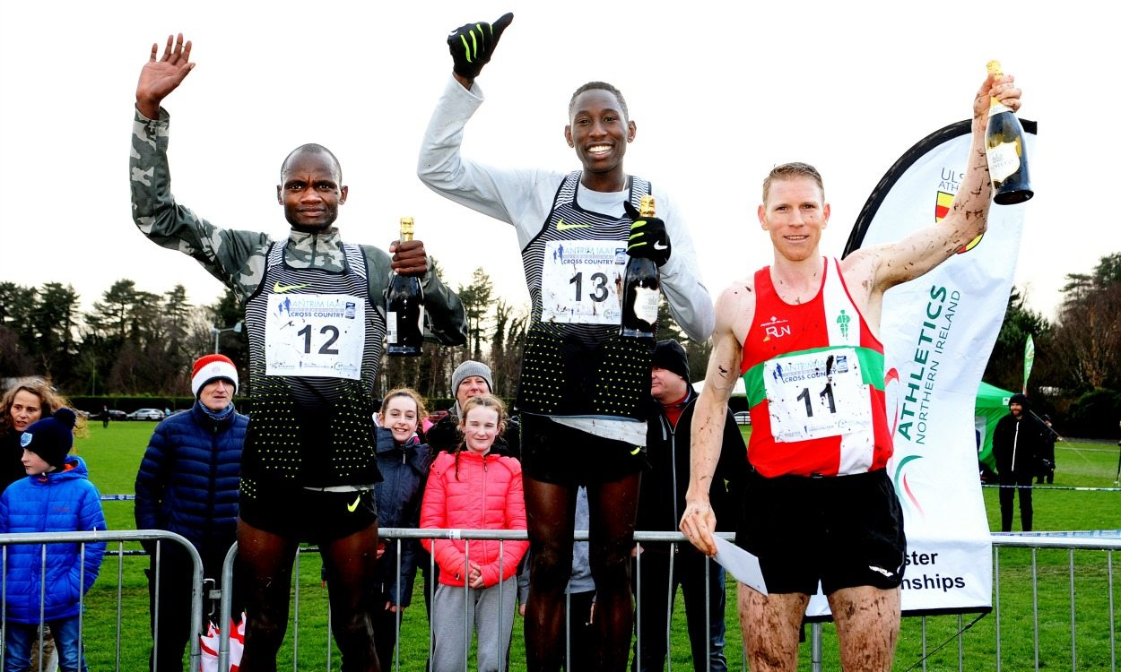 Conseslus Kipruto and Caroline Kipkirui win at Antrim International