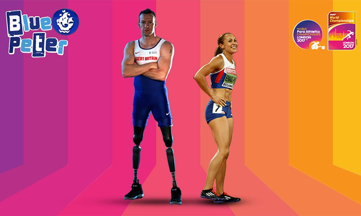 Jessica Ennis-Hill and Richard Whitehead launch London 2017 mascot design competition