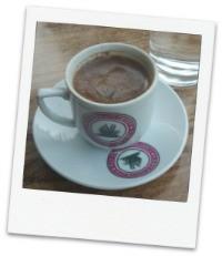 Coffee in Omodos Village