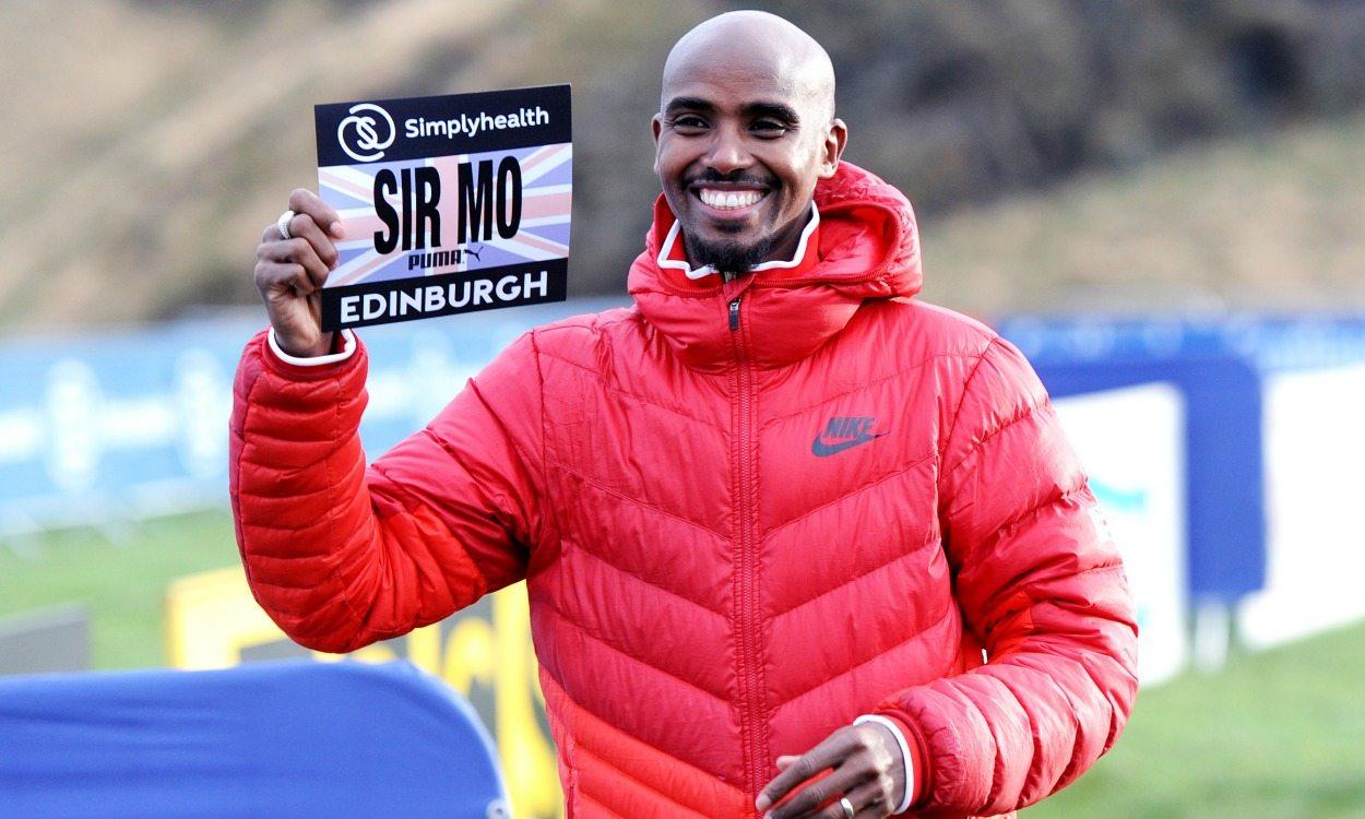 Sir Mo Farah ready to bid cross country farewell in Edinburgh