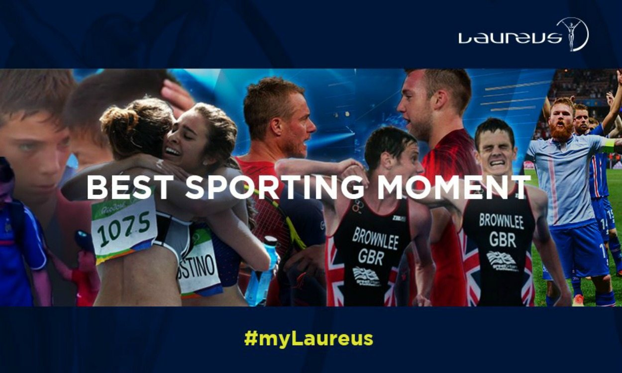 Laureus launches best sporting moment award