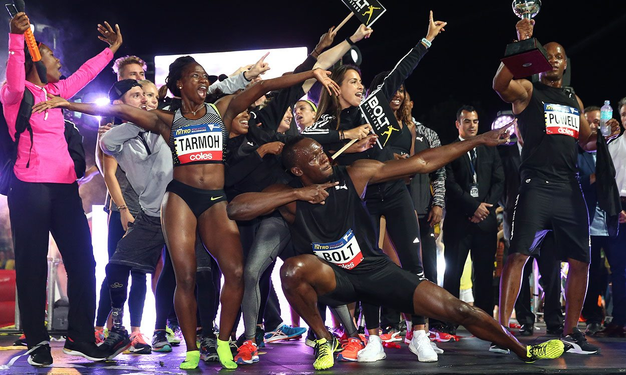 Bolt All-Stars win inaugural Nitro Athletics series