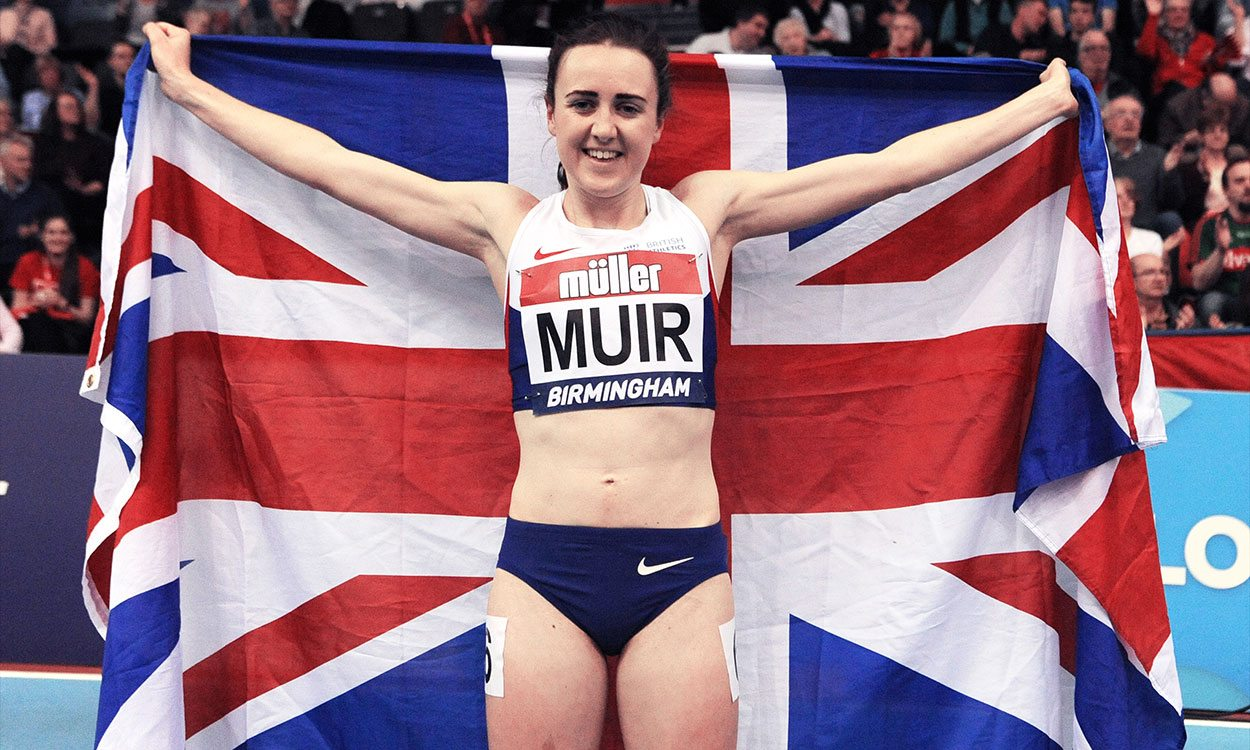 "Laura Muir can ""cement her place in history"" at London 2017, says Kelly Holmes"