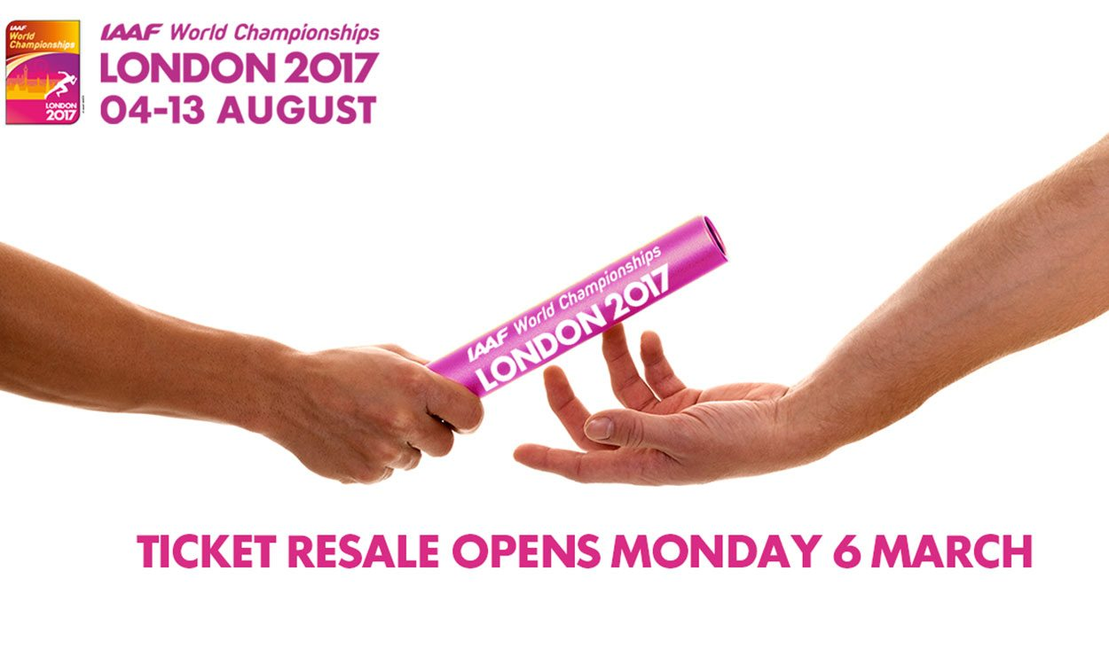 London 2017 launches ticket resale scheme