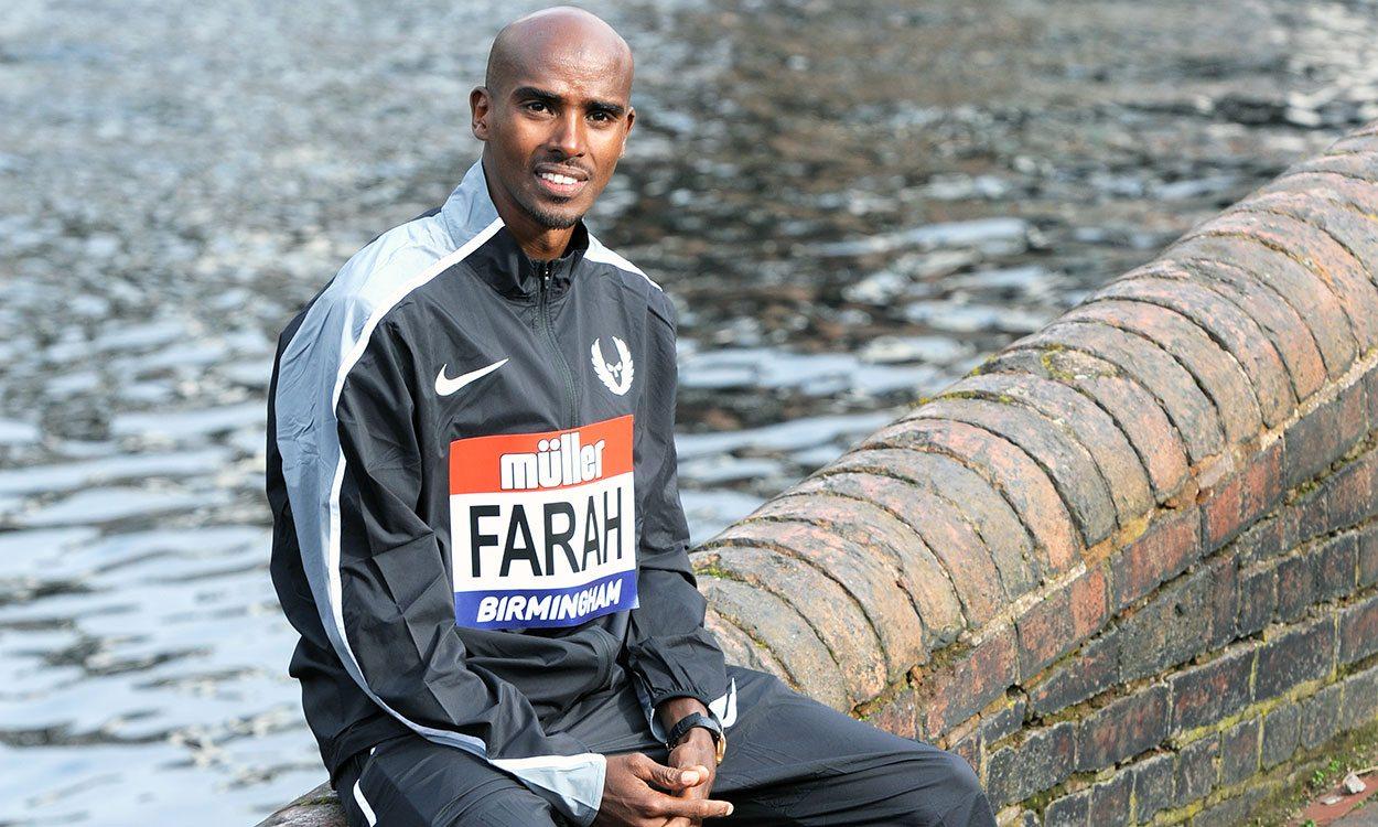 Mo Farah ready to bounce back in Birmingham