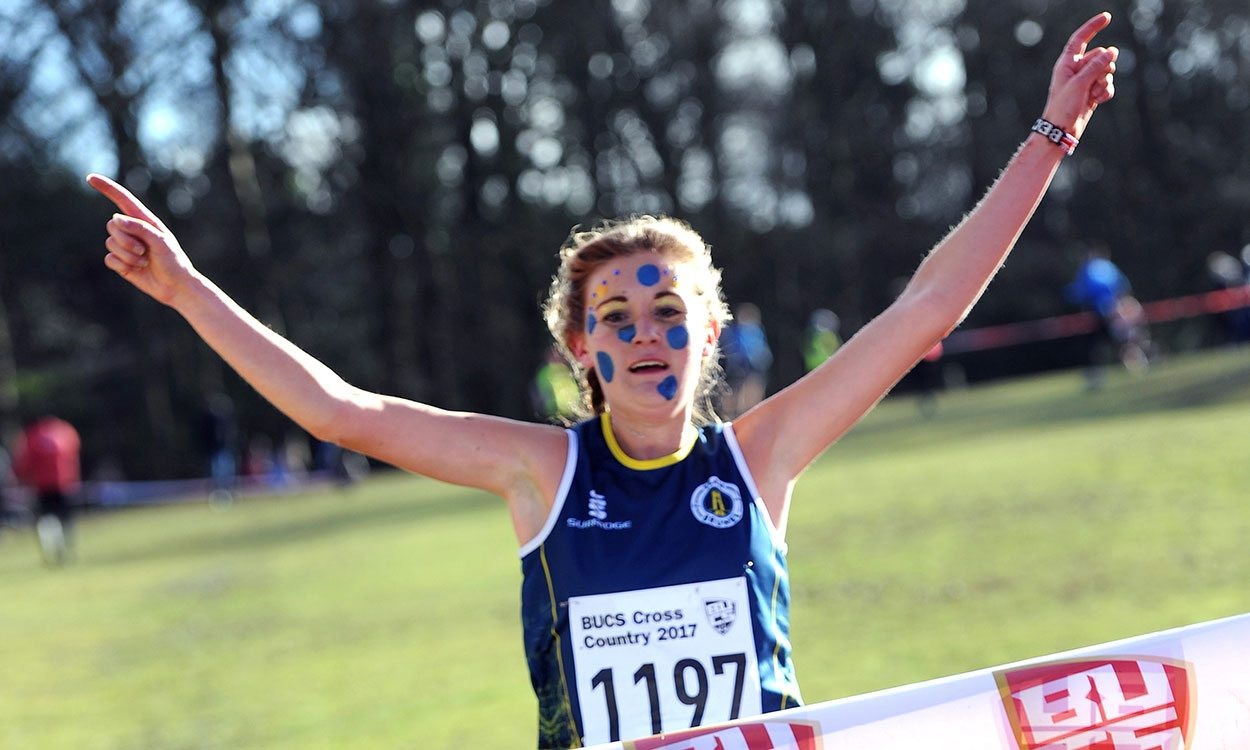 Rebecca Murray and Alex Teuten win at BUCS Cross Country