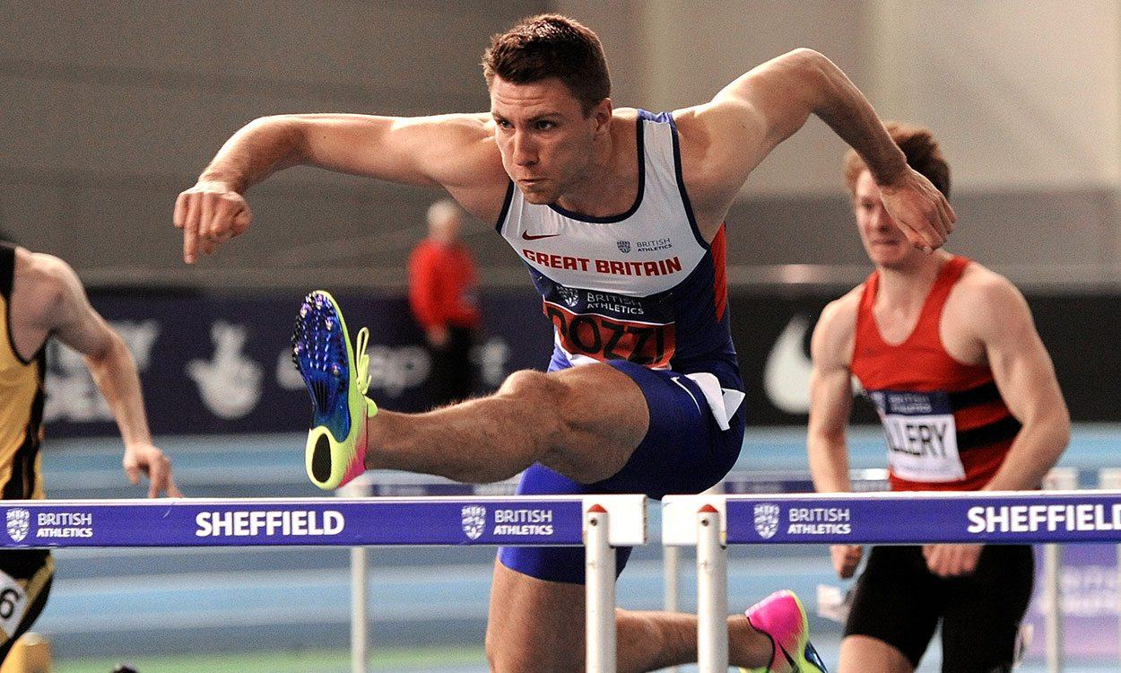 Andrew Pozzi storms to British 60m hurdles title in Sheffield