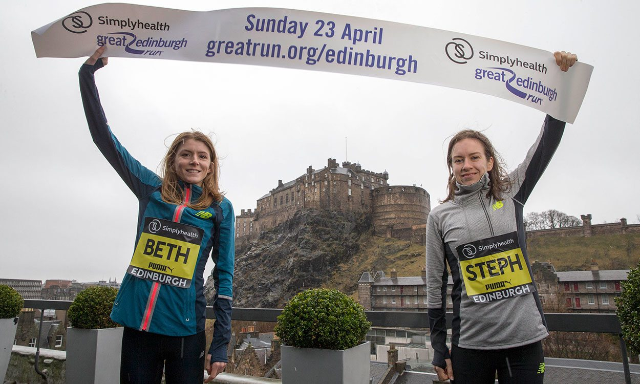 Beth Potter and Steph Twell on the benefits of running together